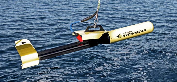 Dostawa sonaru holowanego HYDROSCAN