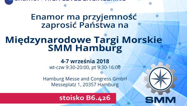Nowoczesne systemy morskie Enamor zostaną zaprezentowane na SMM w Hamburgu