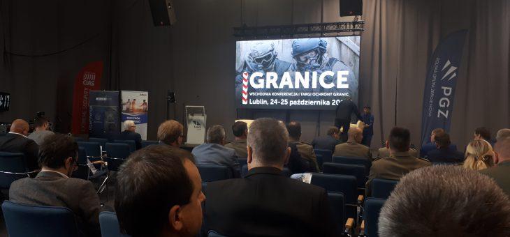 """Wschodnia Konferencja i Targi Ochrony Granic """"GRANICE"""" z udziałem ENAMOR"""